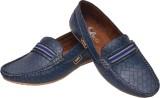 Alivio Textured Loafers (Blue)