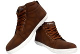 Buenos Tan Sporty High Ankle Sneakers (T...
