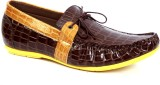 Italiano Casual Men Boat shoes (Brown)