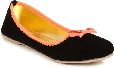 Lovely Chick Lovely Chick Black Women Casual Ballerinas A18-Black Casual Shoe