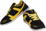 Chargers Running Shoes (Black, Yellow)