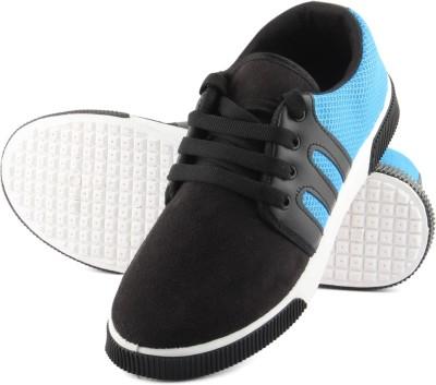 Anupamaa Black Blue Casuals Canvas Shoes