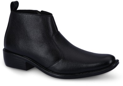 Force Hill 803 Black Slip On Shoes