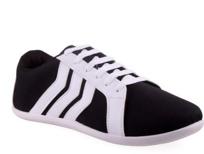 SCORIA R4 Black Canvas Shoes