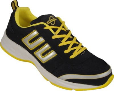 Action Synergy 7147 Black/Yellow Walking Shoes