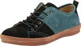 Ronaldo Dx-05 Casual Shoes (Black, Blue)