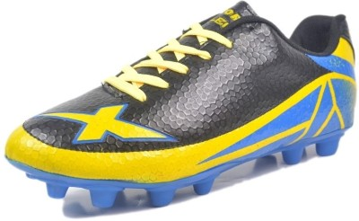 Vector X Killer II Football Shoes(Black, Yellow)