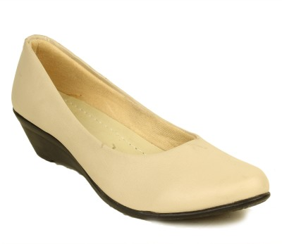 Select Beige Slip On Shoes