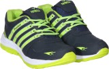 Trywell Running Shoes (Navy, Green)