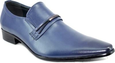 Blue Parrot Party Wear Shoes