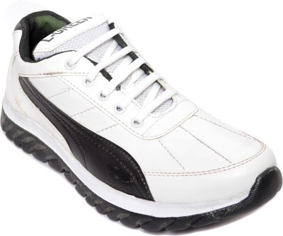 Kamil White Running Shoes