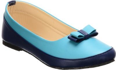 Calliebrown Callie brown trendy stylish turquoise blue ballerinas Bellies