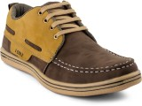 Isole Casuals (Brown, Yellow)