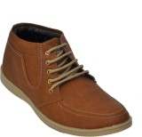 Adjoin Steps Lace Up Casual Shoes (Brown...
