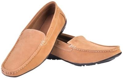 Fashion Zone Tan Loafers