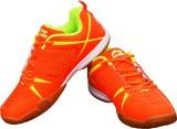 Li-Ning Idol Orange/Lime Badminton Shoes...