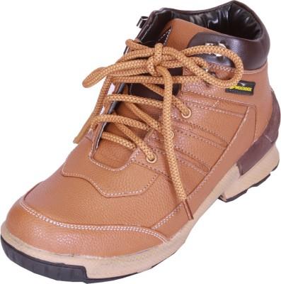 Shoebook Mens Mid Length Boot Boots(Tan)