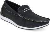 Action Ds 12 B-Black Loafers (Black)