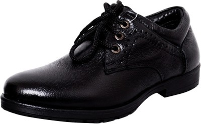 Zoom Zoom Men's Pure Leather Formal ShoesD-3561-Black-6 Lace Up