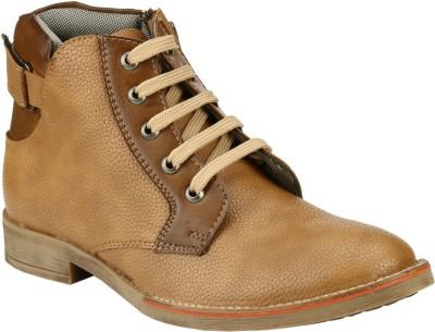 Step Mark Ffs-3015-Beige-Brown Party Wear Shoes