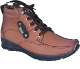 Leather Soft Casual Shoes (Brown)