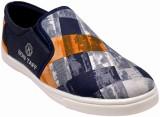 Bon Taff Canvas Shoes (Multicolor, Blue)