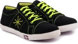 RockSoft Stylish sneakers Casuals (Black...