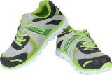 Air Running Shoes (Grey, Green)