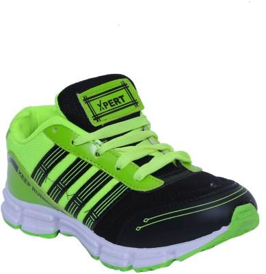 Xpert Kohinoor2 Black Green Running Shoes