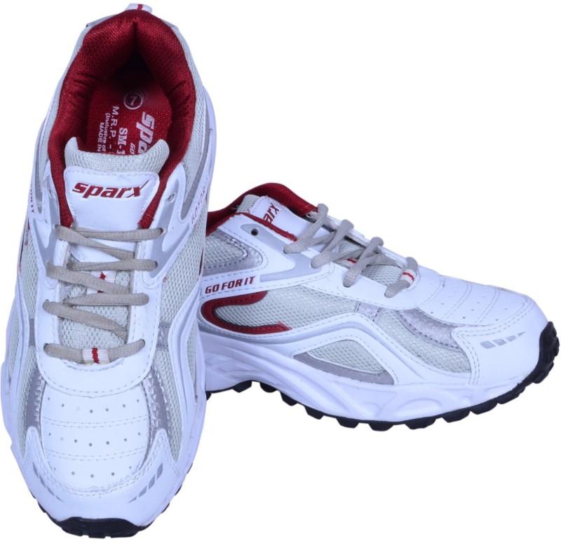 Sparx Running ShoesWhite Maroon SHOEBPYDKACPMBZY