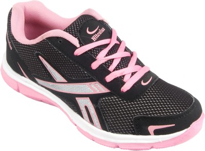 Hitcolus Sporty-02 Walking Shoes(Black, Pink)
