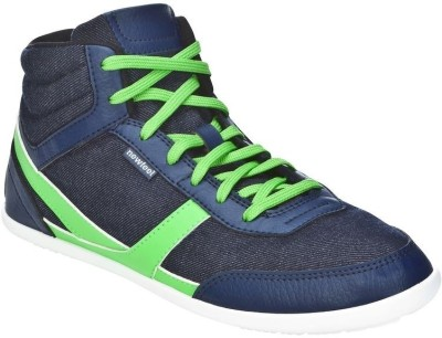 NewFeel Many Mid Blue Green Casual Shoes