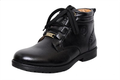 Zoom Zoom Men's Pure Leather Formal Shoes D-3571-Black-7 Lace Up