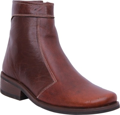 Walkaway Tan Color Lather Casual Boots