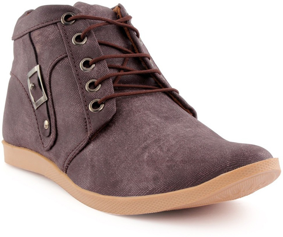 Choice4u Brown Casual Shoes