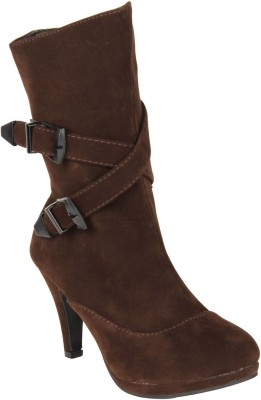 Stylistry Maxis Stylistry Brown Color Shoes Party Wear