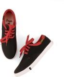 Froskie Sneakers (Black, Red)