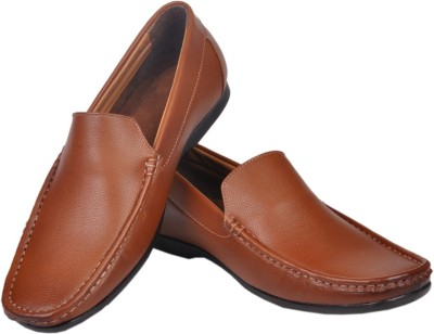 Azzaro Black Slip On Shoes