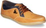 Sapatos Synthetic Denim stylish Gold Cas...