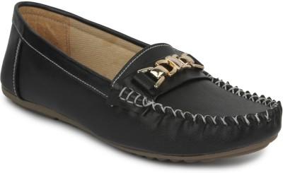 SRS Graceful & Stylish Footwear Loafers(Black)