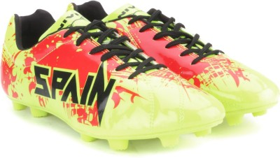 Nivia Destroyer Spain Men Football shoes(Green) at flipkart