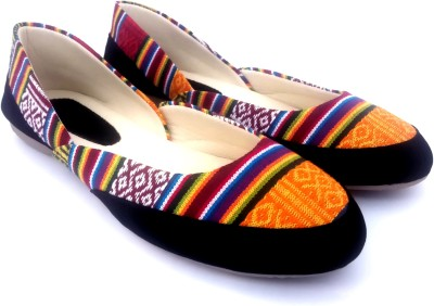 FolkNation Handcrafted Ethnic Mojari Style Bellies