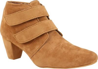 Exotique Heel Boots(Beige)
