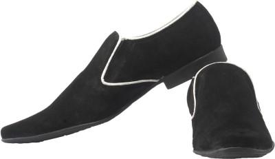 Claude Lorrain Leather Party Wear