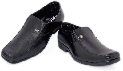 Leather Like Official Slip On