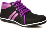 Sole Strings Mens Casual Shoes (Purple, ...