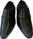 Karnavati Slip On Shoes (Brown)