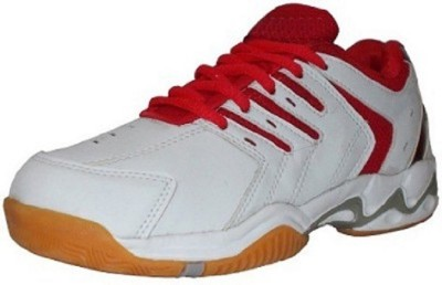Port Red Super Spark Sports Badminton Shoes