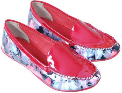 Eve Dior Red Loafers