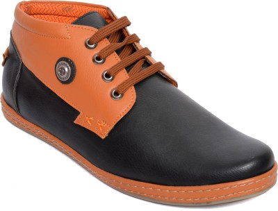 Kamil Black Casual Shoes